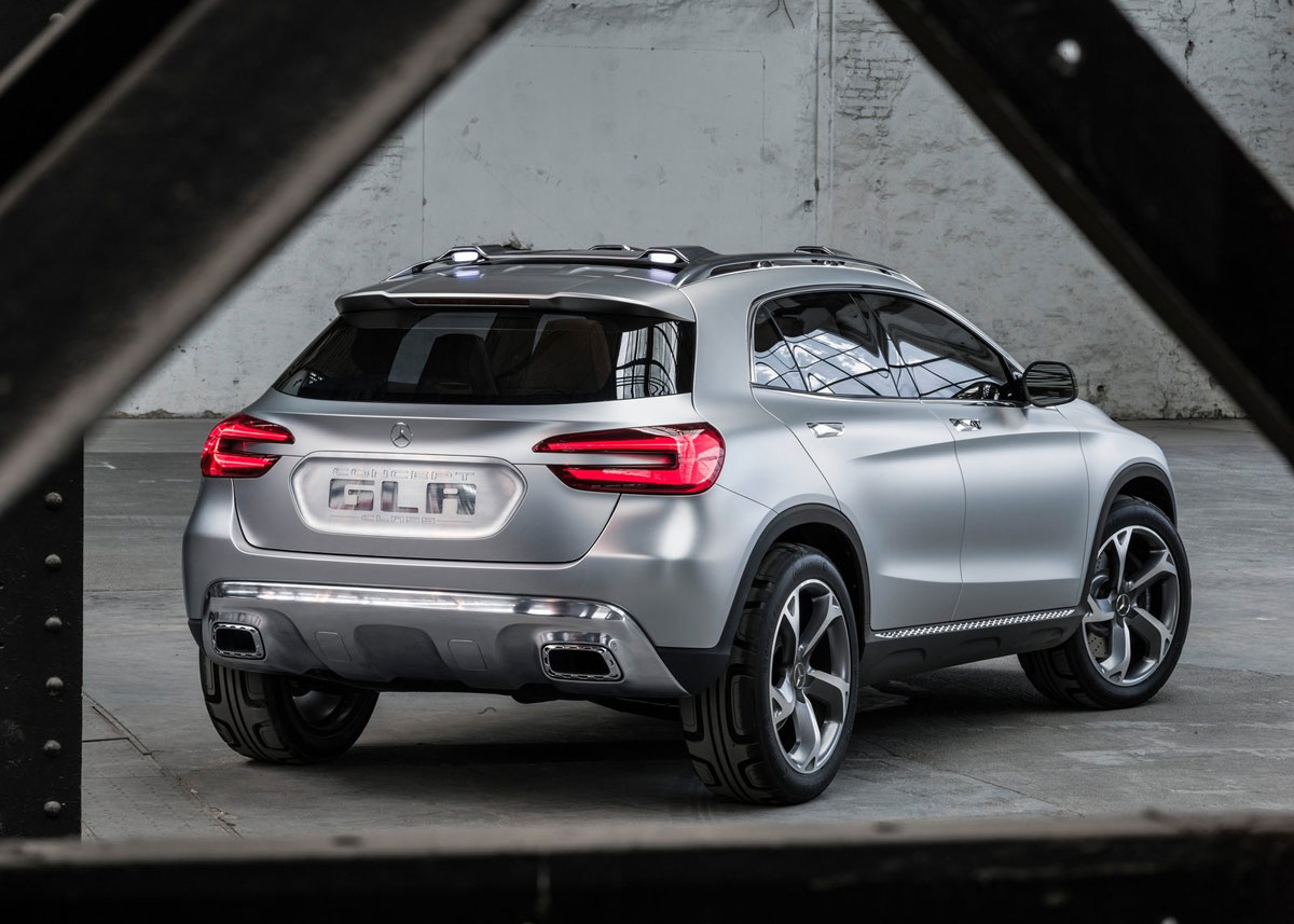 Elegant Mercedes Benz GLA Compact SUV Was Last Modified: April 19th, 2013 By Michoni