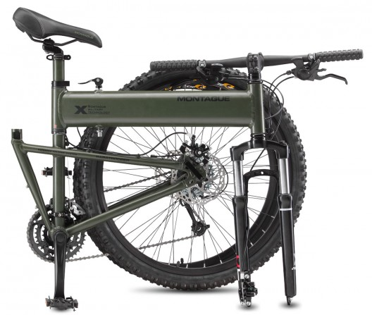 Montague Paratrooper Tactical Folding Mountain Bike