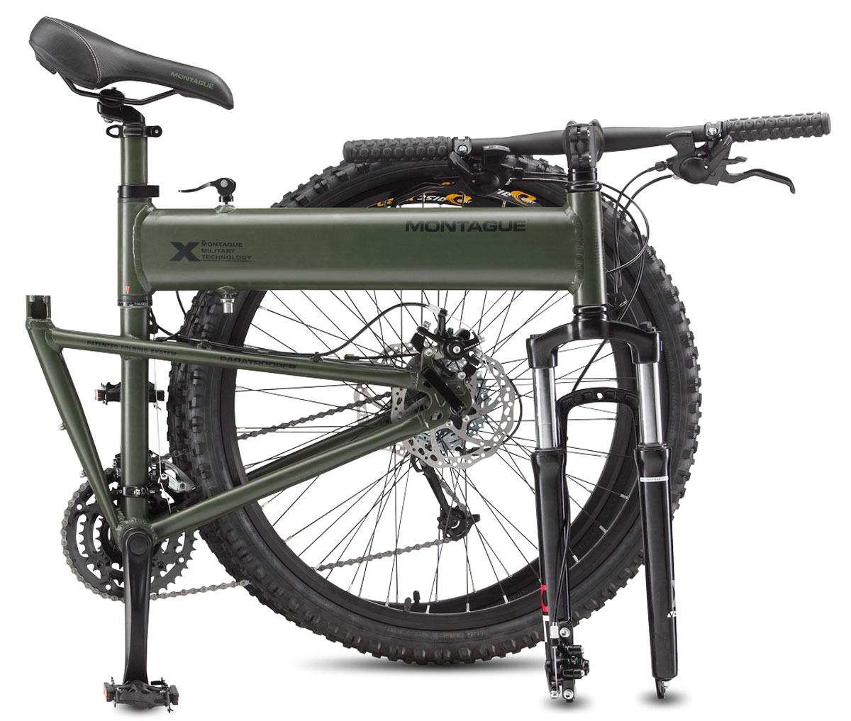 Montague paratrooper folding bike extravaganzi for The montague