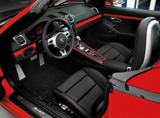 Porsche Boxster S Red 7