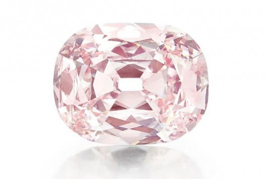 Rare 34.64-carat pink diamond has been sold for $39,323,750 at Christie's (more than $1 million per carat)