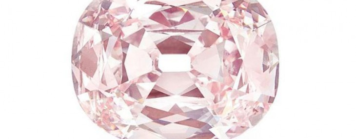"34.64-carat ""Princie Diamond"" Sold for $39 Million at Christie's"