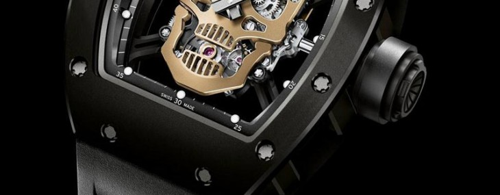 RICHARD MILLE RM52-01 NANO-CERAMIC SKULL TOURBILLON