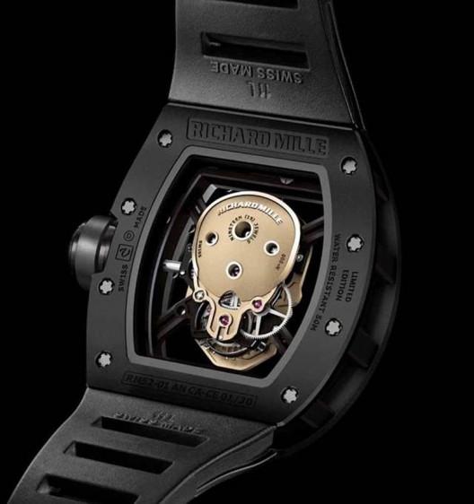 RICHARD MILLE RM52-01 NANO-CERAMIC SKULL TOURBILLON