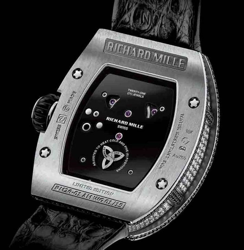 richard milles panda and skull watches at baselworld 2013