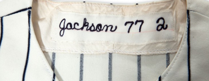 Reggie Jackson&#8217;s Yankees Jersey on SPC Auction