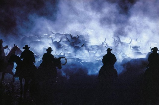Richard Prince Silhouette Cowboy Ektacolor photograph