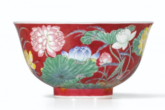 Red Imperial Chinese Qing Bowl Sells for $9.5 Million