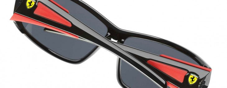 Scuderia Ferrari Shiny Black Sunglasses