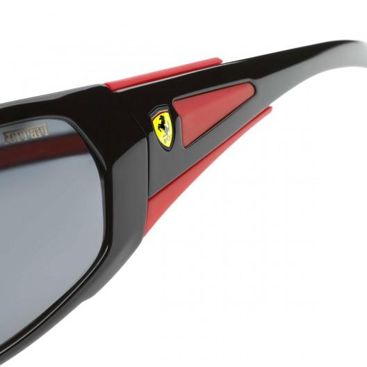 Scuderia Ferrari Shiny Black Sunglasses