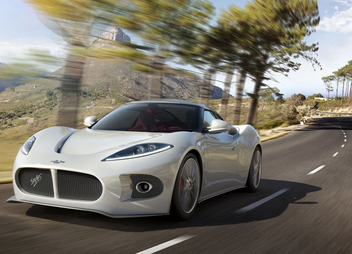 spyker  venator coming    simply luxurious life style