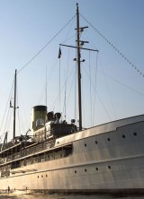 Historic SS Delphine Steam-Powered Boat for Sale