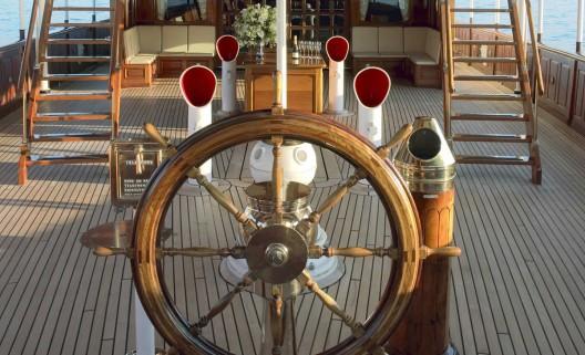 Steam-Powered SS Delphine Yacht