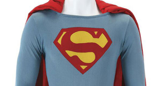 Superman IV Christopher Reeve Special Effect Flying Costume Auctioned Off