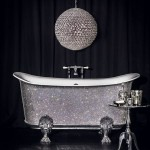 £150,000 Swarovski-studded Bathtub at Harrods