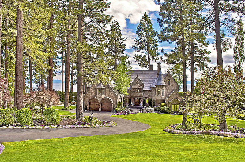 the castle on lake tahoe for sale extravaganzi