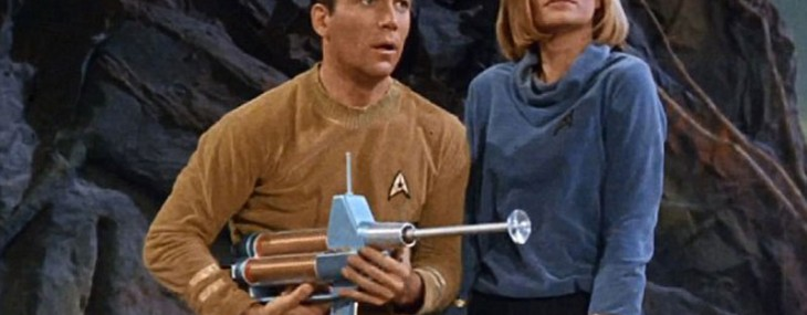 A one-of-a-kind phaser rifle used by William Shatner in the second pilot made for the original Star Trek series sold for $231,000 at an auction conducted by Julien's