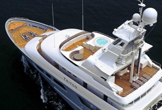 Triton Expedition Yacht by Delta Marine