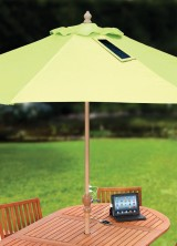 Innovative Outdoor Patio Umbrella Allows You Charge Your USB Gadgets