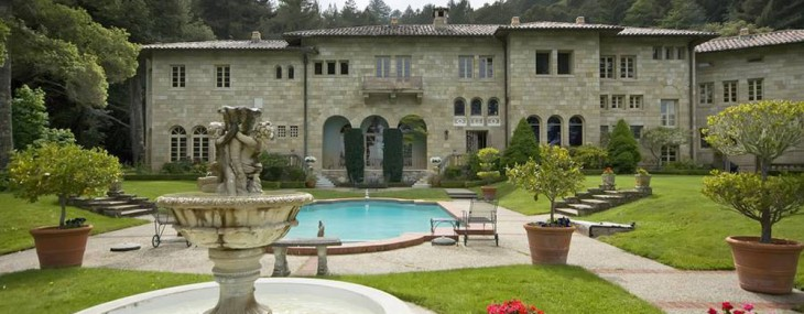 Villa Lauriston in the Heart of Silicon Valley Goes Under the Hammer