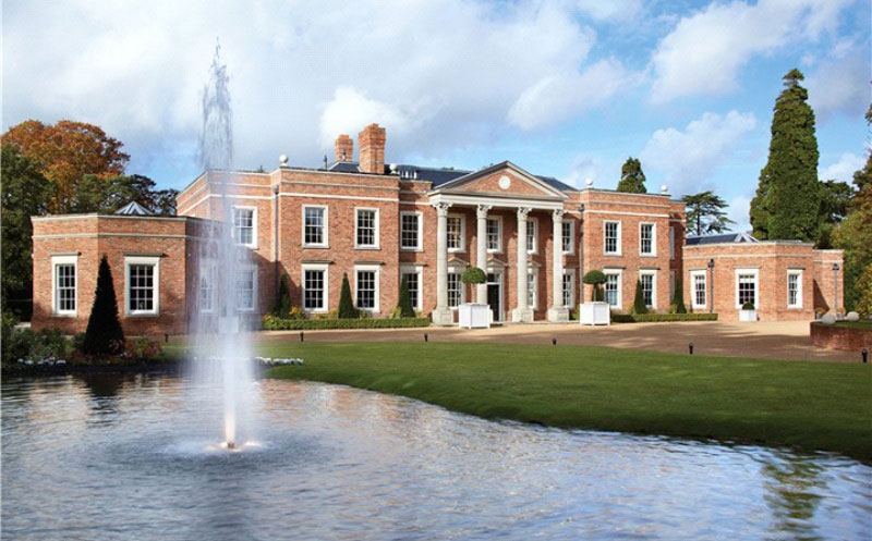 windsor park hall in surrey england on sale for 35 million extravaganzi