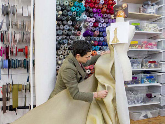 Zac Posen Designs $1.5 Million, 24K Gold Dress For Magnum Ice Cream
