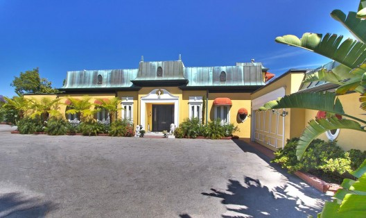 Zsa Zsa Gabor's Bel Air Mansion