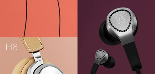 New Bang and Olufsen BeoPlay H3 and H6 Headphones