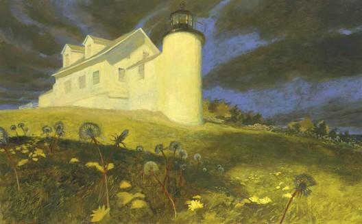 Lighthouse Dandelions by Jamie Wyet