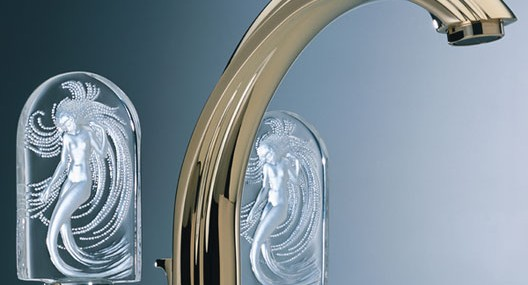 Three Lalique Crystal Faucets By THG