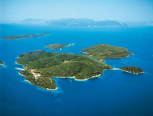 Scorpios Island, Greece