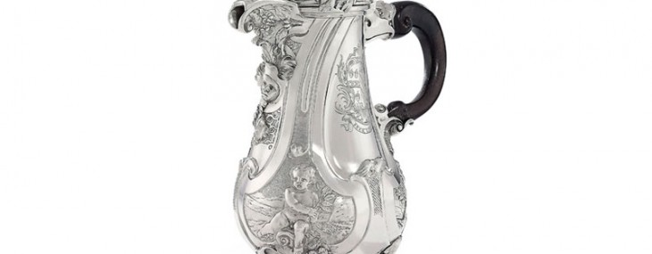 1738 George II Silver Coffee-Pot