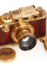 1931 Leica Camera Gold Plated Sold for $683,000 At Auction