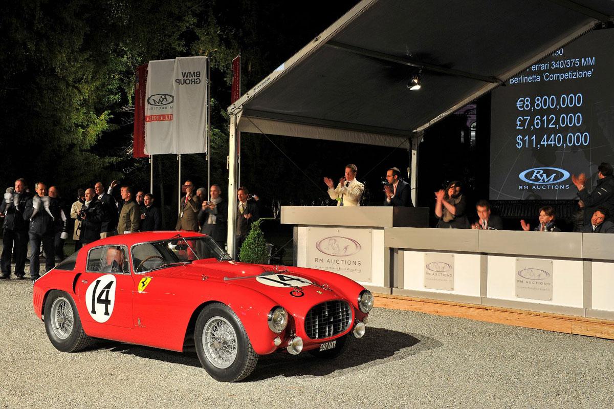 1953 Ferrari 340/375 MM Pinin Farina Berlinetta Competizione