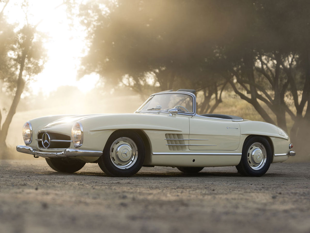 Rm auction announced early highlights for monterey sale for 1957 mercedes benz