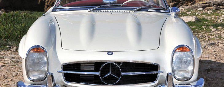 1962 Mercedes-Benz 300SL Roadster on RM Auction
