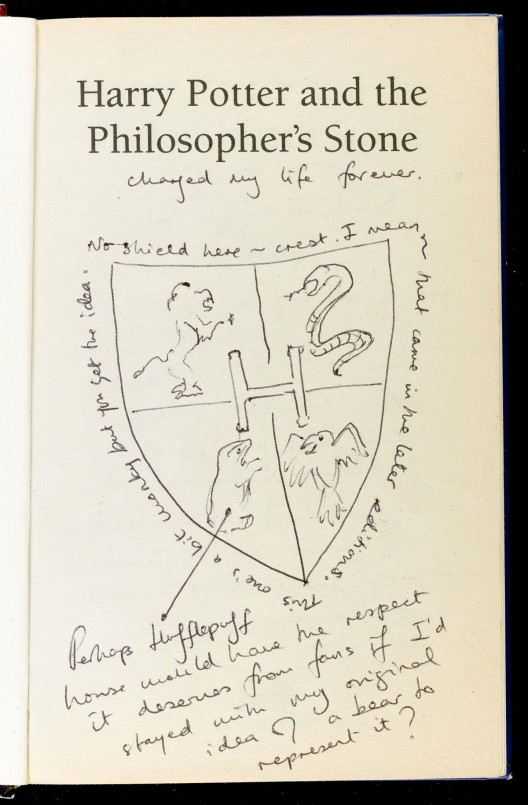 1997 first edition of Harry Potter & The Philosopher's Stone Book