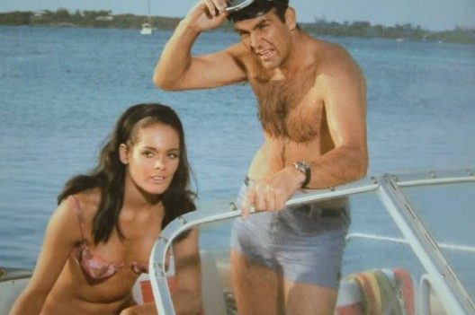 Sean Connery, as James Bond wore a Breitling Top Time in Thunderball Movie