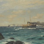 Marine Paintings Thought to Been Lost after Liverpool's Blitz on Sale at Bonhams