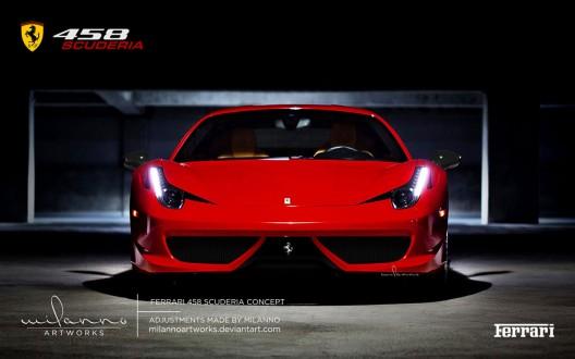 2014 Ferrari 458 Scuderia