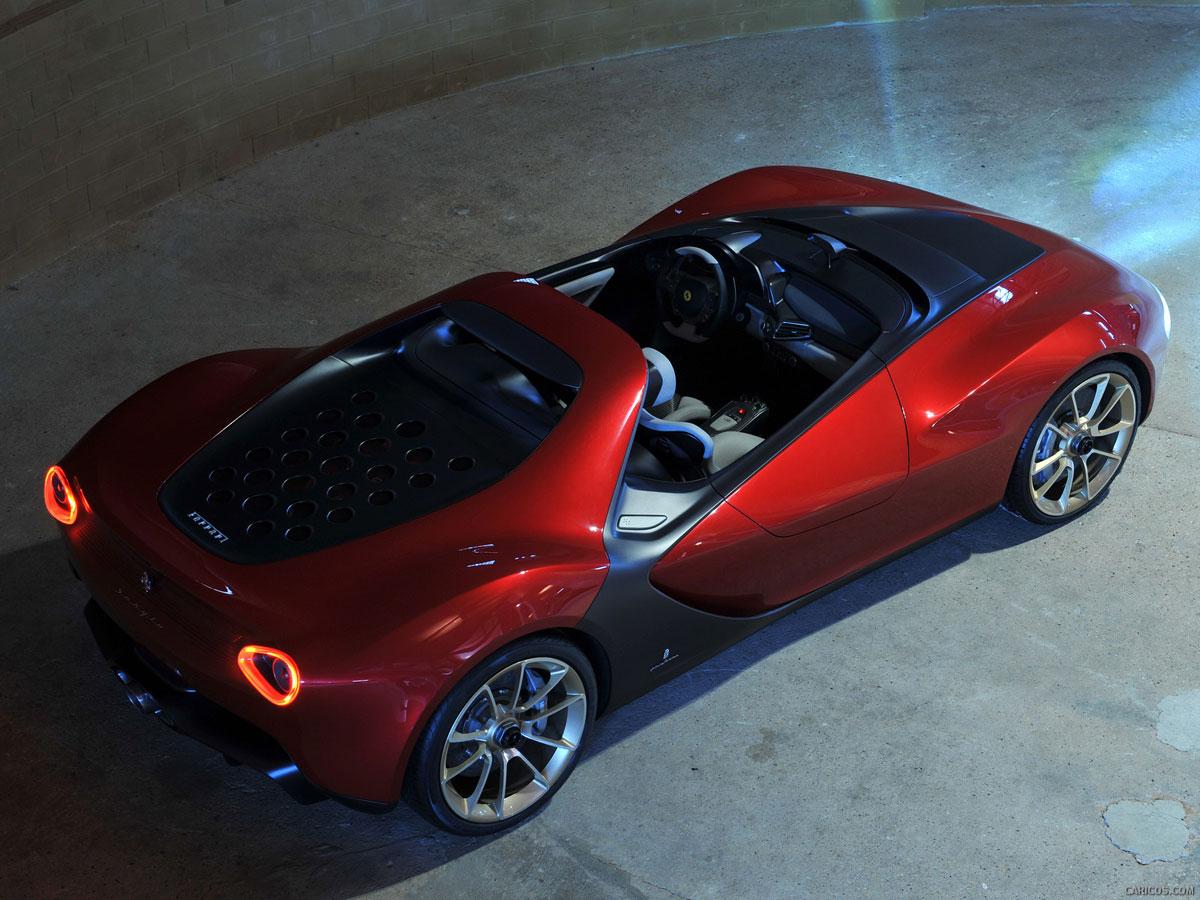 Ferrari Sergio Designed By Pininfarina At Qatar Roads In
