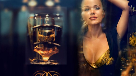 24-carat Gold Lingerie Collection by Rococo Dessous