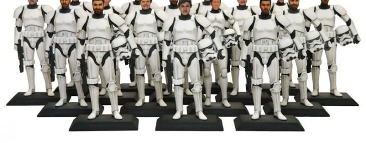 3D Stormtrooper figurine