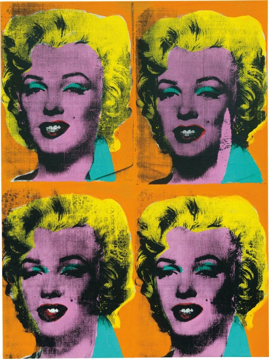 Andy Warhol's 'Four Marilyns
