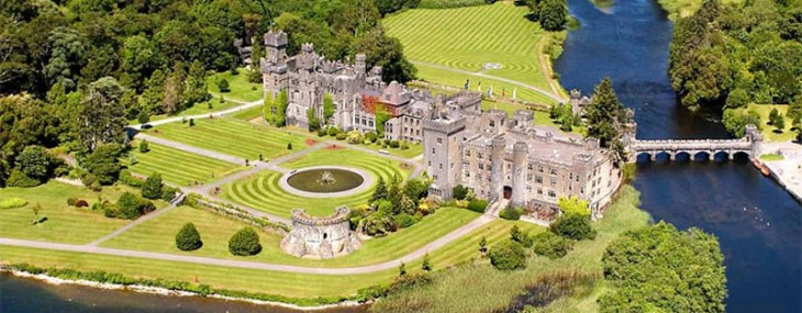 Experience Irish Ashford Castle on Lake Corrib