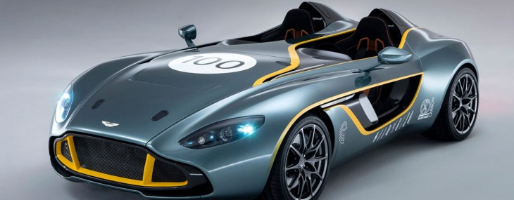 Aston Martin Unveils Six-litre CC100 Speedster