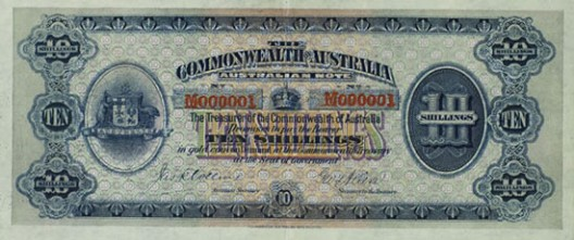 Australia's Number One Note