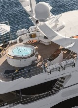 Checkmate Motor Yacht is available for charter with Northrop&Johnson, starting at $200,000 per week