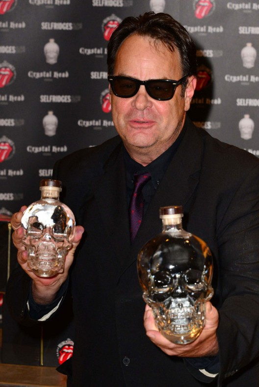Crystal Head Vodka, founded by Dan Akroyd  has teamed up with the Rolling Stones to commemorate the band's 50th anniversary