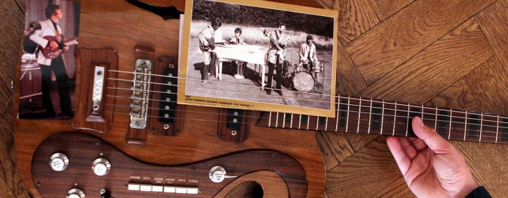 John Lennon and George Harrison's Vox Custom Guitar Reached $408,000 at Auction